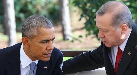 OBAMA, ERDOGAN DISCUSS TURKISH TROOPS IN NORTHERN IRAQ