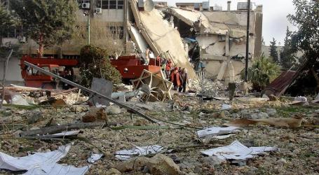 SYRIA: RUSSIA BOMBS IDLIB SCHOOL, KILLS FIVE CHILDREN