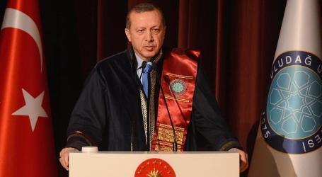 ERDOGAN: TURKISH HUMANITARIAN AID DISREGARDS RELIGION