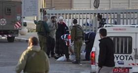 ISRAELI SOLDIER INJURED IN SECOND SNIPER ATTACK IN AL-KHALIL