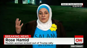 EJECTION OF MUSLIM FROM TRUMP RALLY DRAWS CRITISM FROM GOP, RIGHT GROUPS