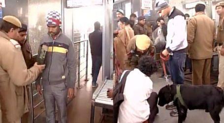 BOMB SCARE AT NEW DELHI STATION, LUCKNOW SHATABDI EVACUATED