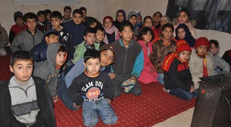 TURKEY BUILD 10 MORE SCHOOLS FOR SYRIANS REFUGEES