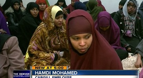 200 US MUSLIM EMPLOYEES WALKED OFF THE JOB DUE TO DISCRIMINATION OF PRAYER