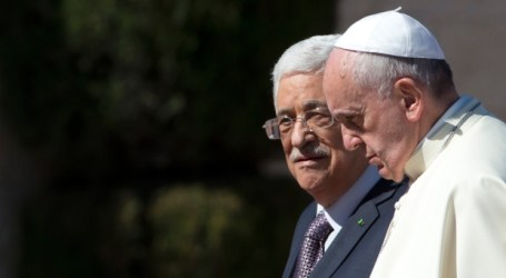 HISTORIC VATICAN ACCORD WITH PALESTINE TAKES EFFECT