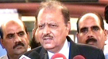 Pakistan president condemns Valentine's Day