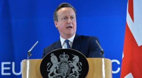 Cameron Calls British EU Referendum For June 23