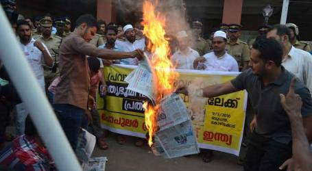 Indian Muslims Force Kerala Newspaper To Apologize For Offensive Comments Against Prophet