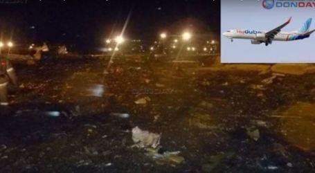 Flydubai Boeing crash in Russia, kills all 62 on board
