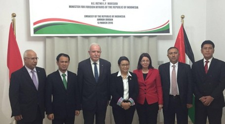 Indonesia Honorary Consul in Palestine Innaugurated