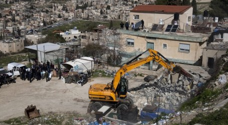 U.N: Israel Razing Palestinian Buildings at 'Alarming' Rate