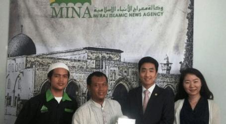 S Korea's NGO HWPL visit MINA for Peace Campaign