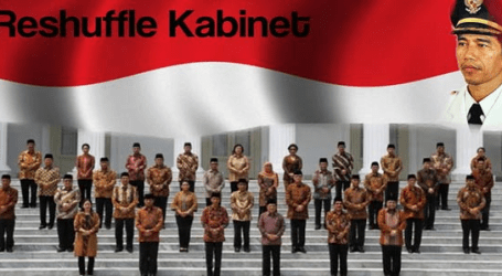 Indonesian President Jokowi Reshufles its Cabinet Again