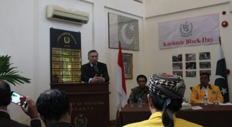 Indonesia Should Fight For Kashmir as for Palestine