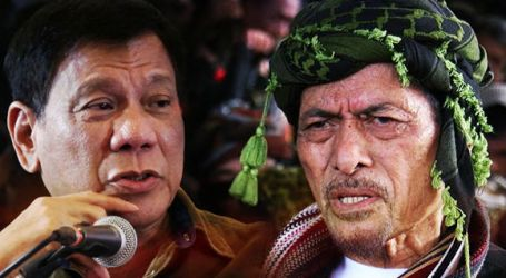 Military to Provide Nur Misuari Security if Duterte Meeting Pushes Through