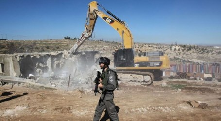 Israeli Army to Raze Bedouins' Homes East Jerusalem