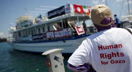 Waiting For Women's Boat to Gaza Sets Sail