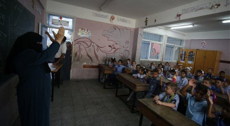 1.2 Million Palestinian Students Back at School