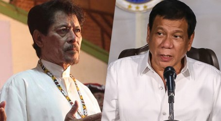 "Duterte to Police, Military : ""Escort Misuari for Talks"""