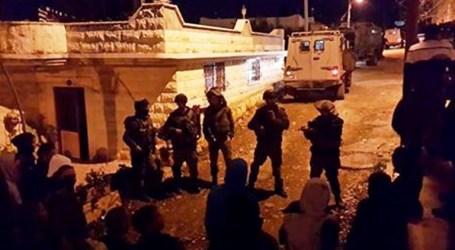 Palestinians Kidnapped by IOF in West Bank Sweep