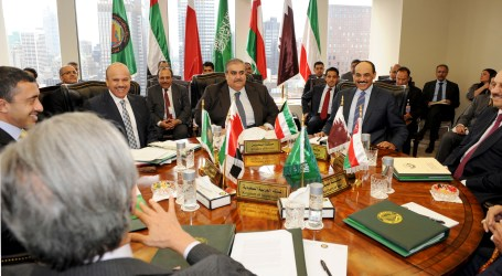 Israel's Withdrawal from Arab Lands Key to Mideast Peace — GCC FMs