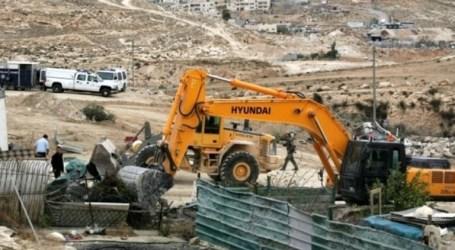 IOF Destroy 4 Water Wells In Al-Khalil