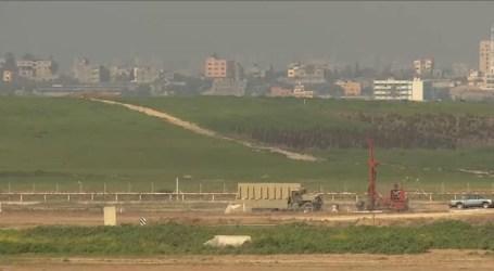 Israel Accelerates Construction of Underground Wall Around Gaza