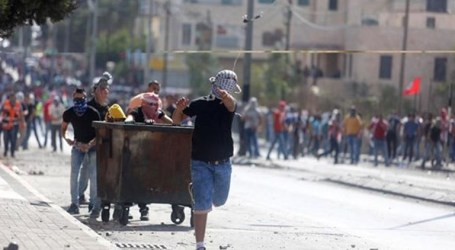 IOF Storms Commercial Shops In Bethlehem Camp