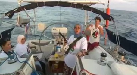 Israel Takes Over Women's Boat to Gaza