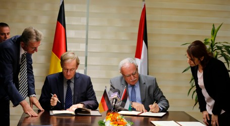 Germany to Finance Projects Worth 49 Million Euros for Palestine