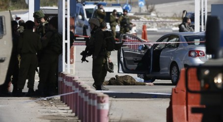 Israeli Forces Kills Palestinian Gunman North of West Bank