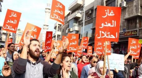 New Protest Against Gas Deal in Amman
