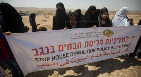 Palestinians Protest Israeli Demolition Campaign in The Negev