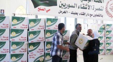 Saudi National Campaign to Aid Syrian Refugees Kicks Off