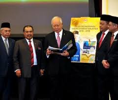 Prime Minister Najib Launches Book on 'Implementation Plan of The Malaysian Syariah Index 2016-2018'