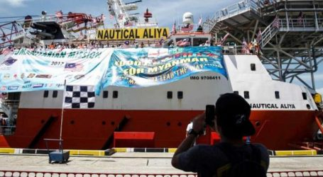 Nautical Aliya Arrives in Chittagong, Only 25 Volunteers Allowed into Refugee Camp