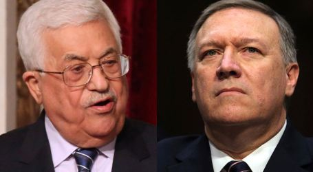 Palestinian President Meets CIA Chief in Ramallah