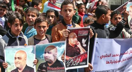 Gazans Rally in Solidarity with Jailed Charity Employee