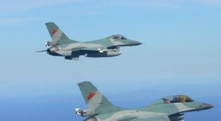 Two F-16 Fighter Jets Arrive from the United States