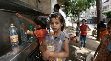 Hundreds of Palestinian Children Join World Cleaning Day Campaign