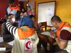 AWG And MER-C Hold Free Medical Treatment Activity in Cileungsi