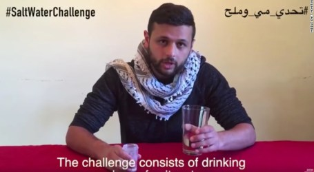 With Palestine We Stand: Arab Celebrities Take on the Salt Water Challenge