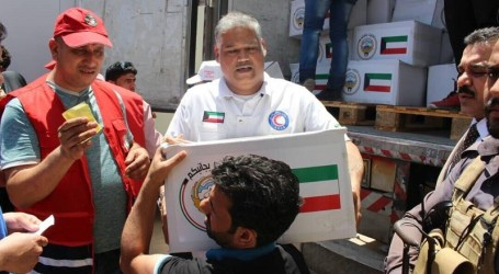 Kuwait Distributes 2.000 Food Baskets to Refugees in Iraq