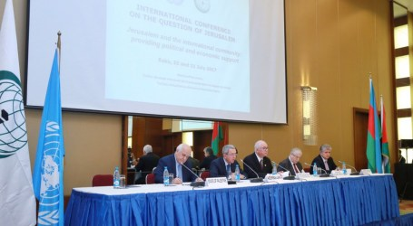International Conference on Jerusalem Kicks off in Baku