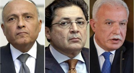 Foreign Ministers of Egypt, Jordan, Palestine to Discuss Israeli-Palestinian Peace Process