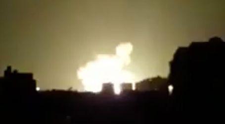 Israeli Warplanes Strike North Gaza