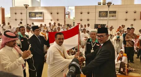 Indonesian Haj fLight 2nd Phase Arrives in Jeddah