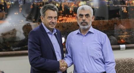 Red Cross Head Meets Hamas Chief in Gaza
