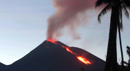 Mount Agung Eruption, 96 Thousands Displaced