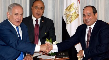 Al-Sisi Meets With Netanyahu in First Public Talk